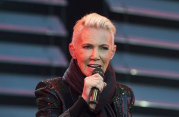In this file photo dated July 18, 2015, Marie Fredriksson, singer of the pop duo Roxette. Fredriksson has died, aged 61 after a long illness, according to an announcement Tuesday December 10, 2019. (AP)