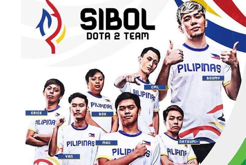 Team SIbol Dota 2 team. (Photo courtesy of Philippine Sports Commission)