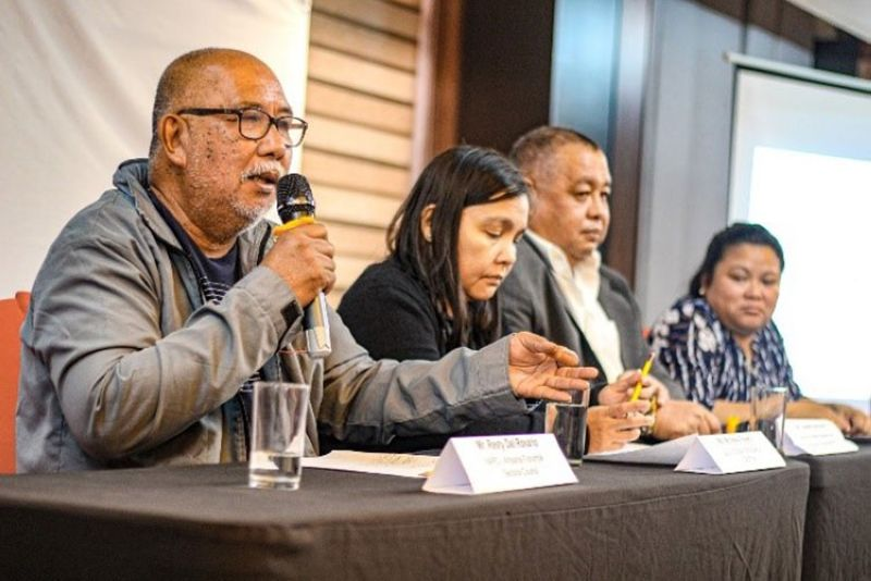MANILA. Fisheries stakeholders call for the establishment of DFAR to ensure food security and conservation of marine resources in the Philippines. (Photo from WWF-Philippines)