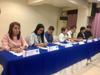 DAVAO. The offices of the Department of Trade and Industry in Davao Region (DTI-Davao) reported their accomplishments for the year during the Annual Preliminary Performance Report 2019 at The Pinnacle Hotel and Suites in Davao City on December 12, 2019. (Photo from DTI-Davao Facebook page)