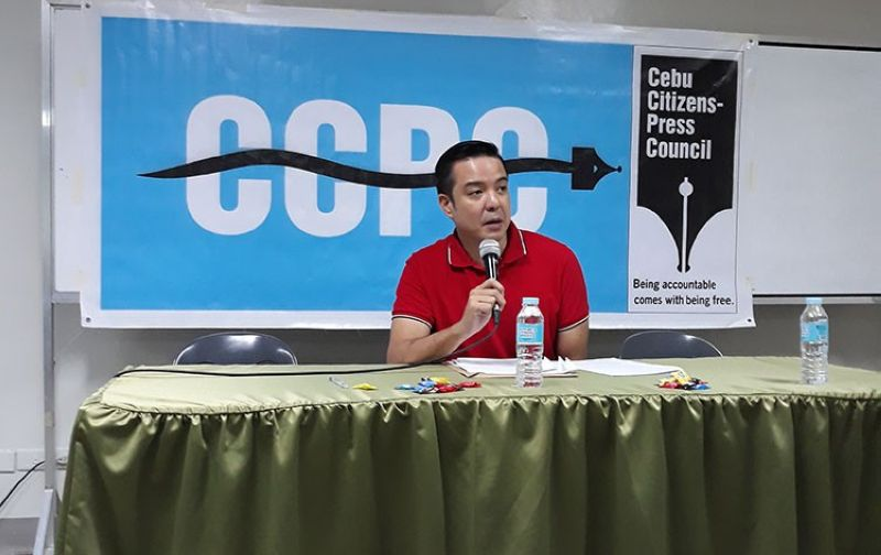 Cebu City Councilor Edu Rama (Photo from CCPC)