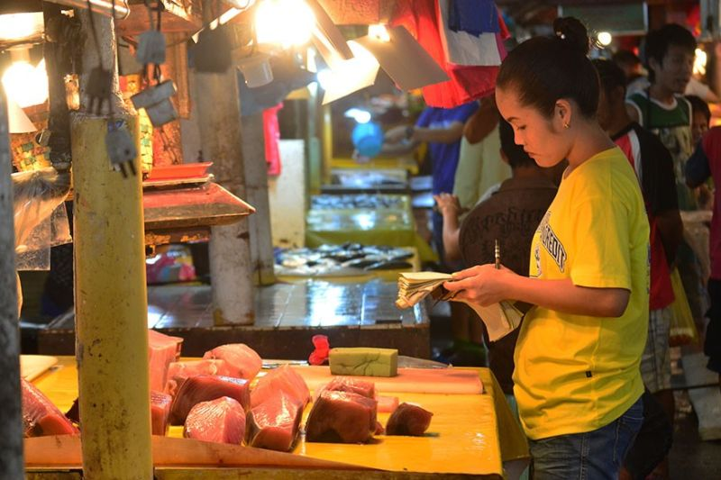 DAVAO. Fish is among the selected food item with a spike in price, contributing to the soaring of Davao Region's inflation rate this December 2019, according the Philippine Statistics Authority. (Macky Lim)