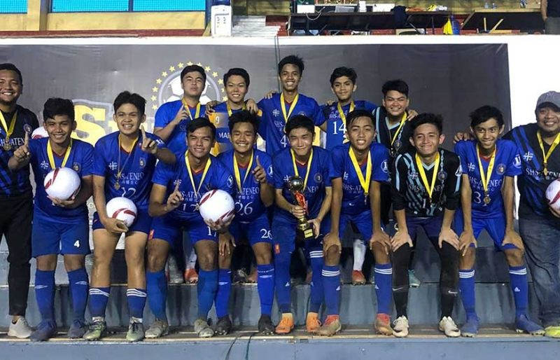 TITLE HUNT. After winning a title in the SunStar Football Cup Boys 17 division, local favorite Sacred Heart School-Ateneo de Cebu hopes to add two more in the AboitizLand Football Cup. (Contributed photo)