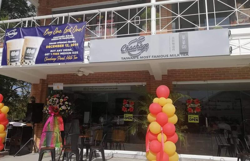 NEW BRANCH. Chachago Sindalan is now open at Greenfields Square in Barangay Sindalan, City of San Fernando. (Charlene Cayabyab)