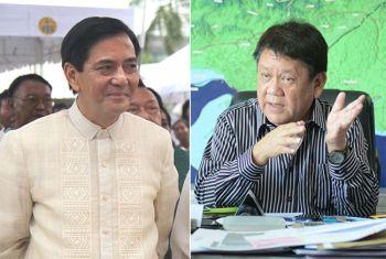 CEBU. Cebu City Vice Mayor Mike Rama (left) and former Cebu City mayor Tomas Osmeña. (SunStar File)
