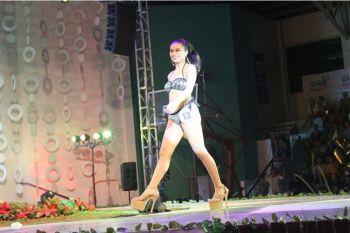 AKLAN. Abalajon, during the Miss Kalibo Sto. Nino pageant in Ati-atihan Festival in January this year. (Jun N. Aguirre)
