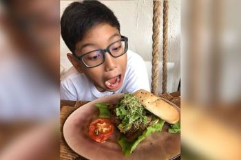 DAVAO. Only a month into its operations, Mimi Vergara-Tupas is inspired that some families have joined her plant-based food advocacy in their own homes after experiencing her vegan dishes at the cafe. (Contributed Photo)