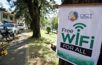 BAGUIO. Baguio City now enjoys free Wi-Fi connection at Session Road courtesy of the Department of Information and Communications Technology (DICT). (Photo by Jean Nicole Cortes)