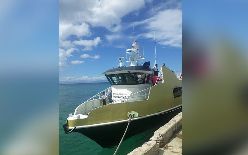 Connecting islands. Jomalia Shipping Inc. launches its new fastcraft service between Mactan Wharf and Consuelo Port in San Francisco, Camotes.SunStar Photo /  Jolissa Taboada