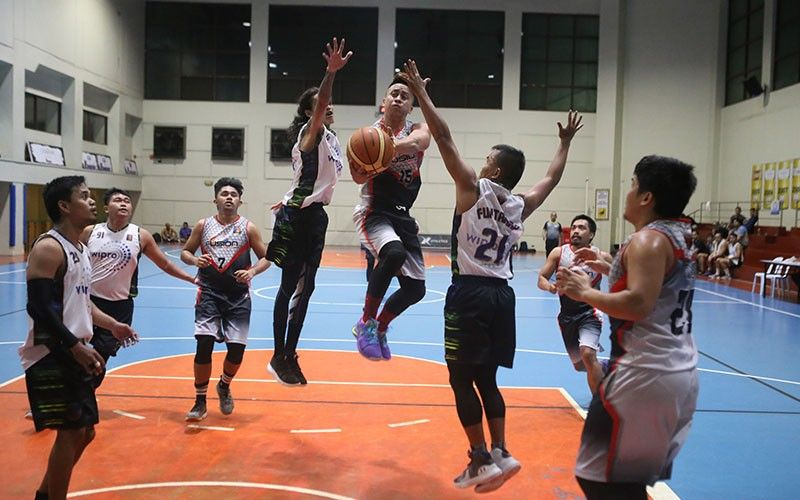 Fusion BPO's Nino Belande had a huge triple-double to push his team to the semifinal round.  (Contributed Photo)