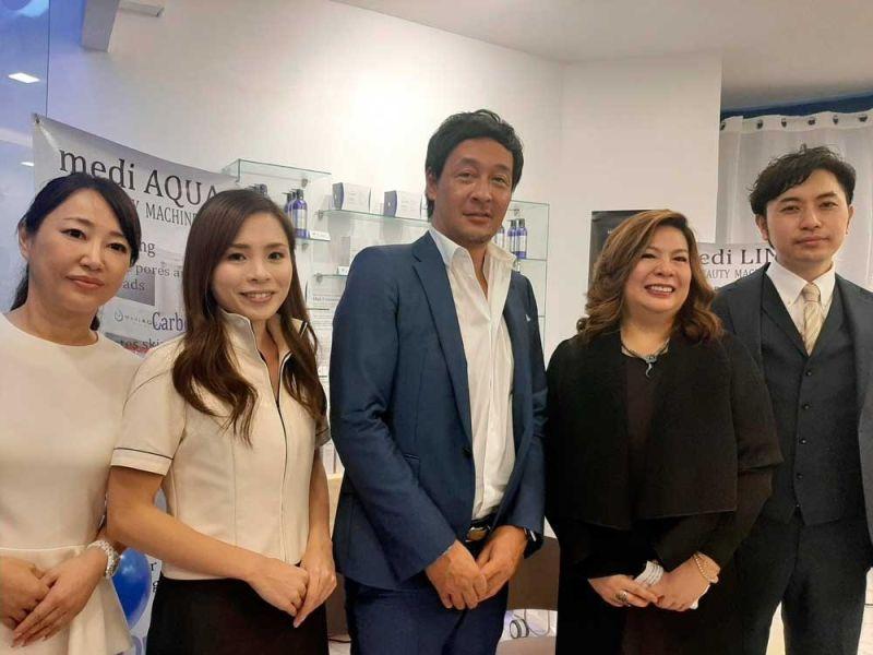 MEDICAL EXPERTS. Yumiko Nakajima, Moie Fujimoto, Hiroya Narasaki, Hope Solano-Torralba and Kentaro Ono.