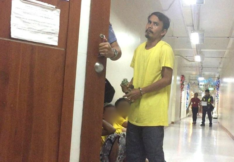 CEBU. Nelson Turayno entered his guilty plea to producing child sexual abuse materials before Judge Ramon Daomilas Jr. of Cebu City Regional Trial Court Branch 11 on Monday, December 16, 2019. (Photo from IJM)