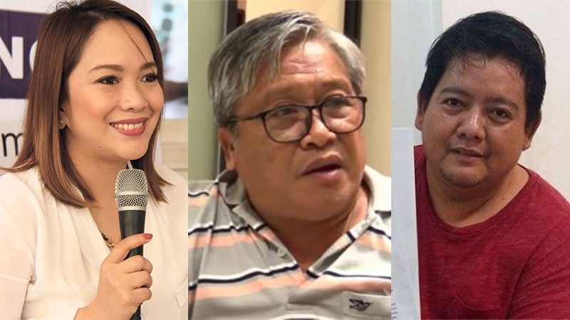 CEBU. (From left) Cebu City Councilor Niña Mabatid, Jun Alcover and Ramil Ayuman. (SunStar File)