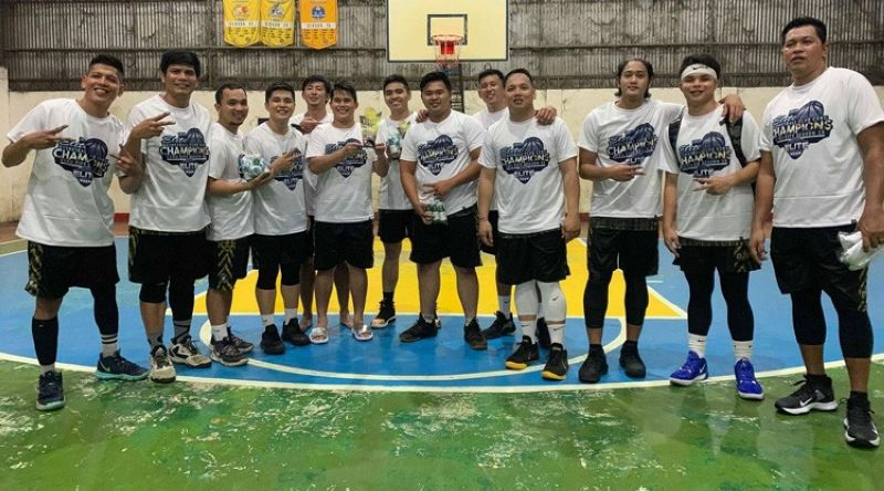 The Eagles soared to their second straight title in the Elite Basketball Club Cebu. (Contributed foto)