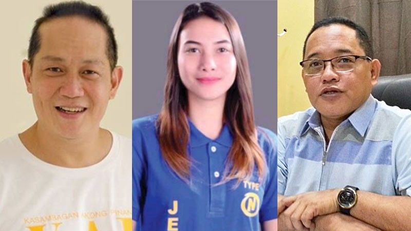CEBU. (From left) Councilor Franklyn Ong, SK Federation president Jessica Resch, and Councilor Dave Tumulak. (SunStar File)