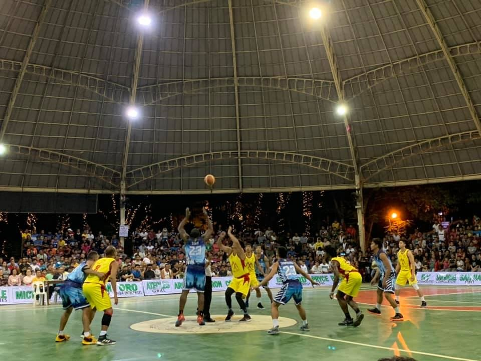 TAGOLOAN. Exciting Invitational Open basketball tourney at the Tagoloan Dome of Misamis Oriental. (Contributed Photo)