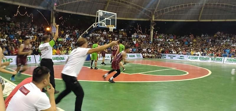 CAGAYAN DE ORO. Victory by the young all-solid Southwestern Phinma Cobras against former tormentor Cebu Niños in the battle for third place of the cash-rich Tagoloan Open basketball at the Tagoloan Dome of Misamis Oriental on Saturday, December 21, 2019. (Lynde Salgados)