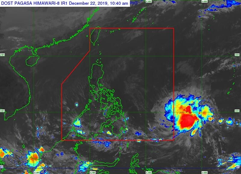 Photo courtesy of Pagasa.