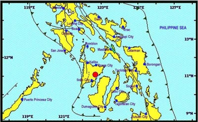 M4.8 quake shakes typhoon-hit Iloilo, Capiz - SUNSTAR