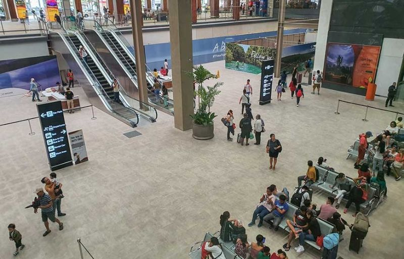SUSTAINED ARRIVALS. Tourism stakeholders say the modernization of the Mactan-Cebu International Airport has helped sustain the tourist arrivals in Cebu this year. (SunStar File photo)