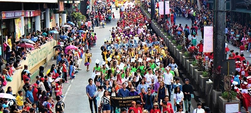 The Fashion Association of Baguio Youth (FAB Inc. Youth) was among the many other participants in the Spring Festival 2019 parade. February 06 at Baguio CBD. (Youth file photo)