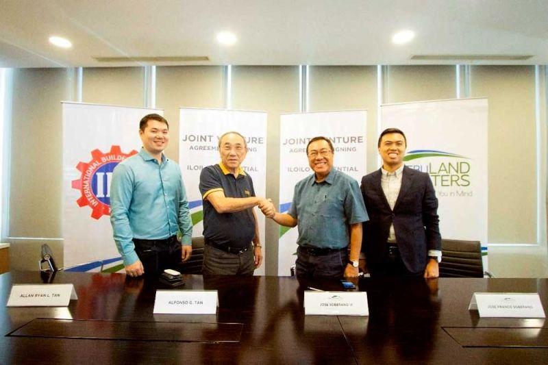 CEBU LANDMASTERS INC. Allan Ryan Tan, Alfonso Tan, Jose Soberano III and Franco Soberano.
