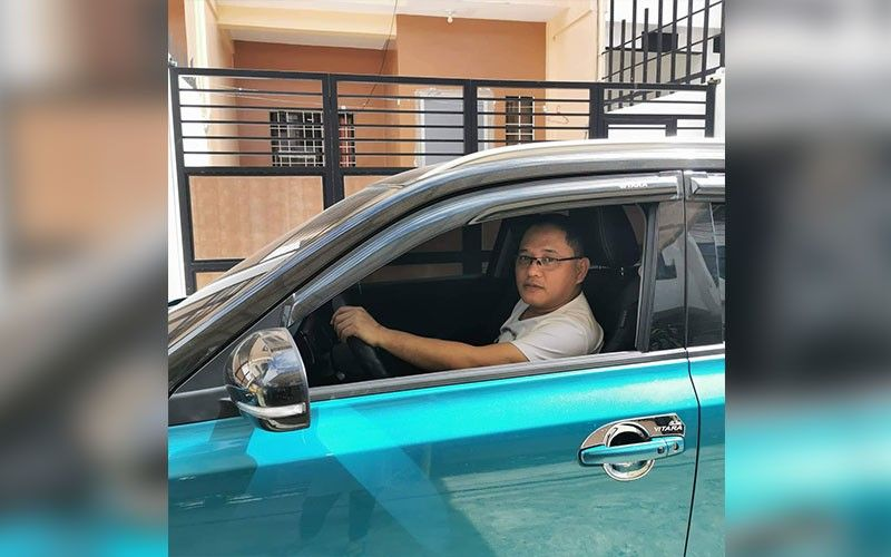 WHO'S GONNA DRIVE YOU HOME TONIGHT? Cebu City Councilor Dave Tumulak works as a transport network vehicle service driver at night. He said he wants to experience the traffic situation in the city and serve the commuting public. (SunStar photo / Philip Cerojano)