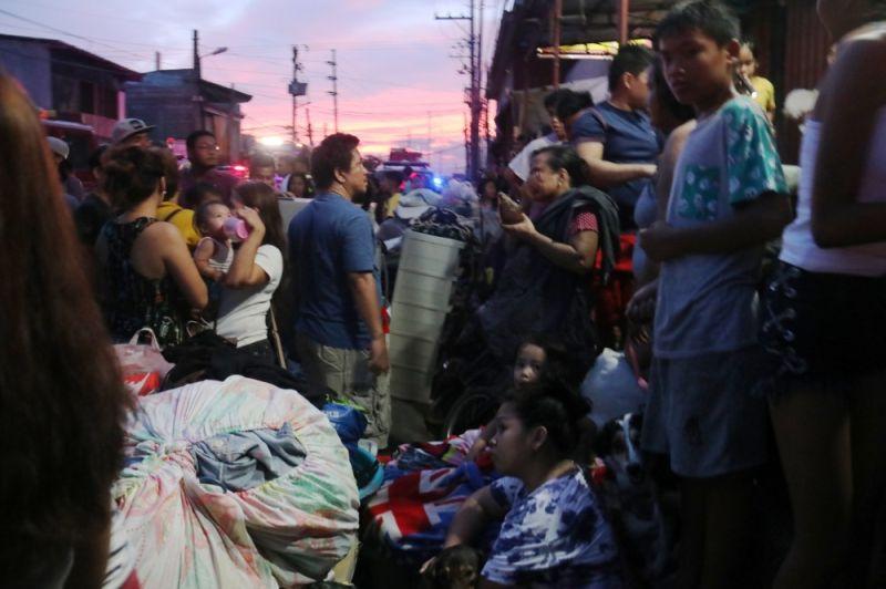 70 balay naugdaw sa sunog sa Barangay Duljo Fatima, Dakbayan sa Sugbo (Amper Campaña)