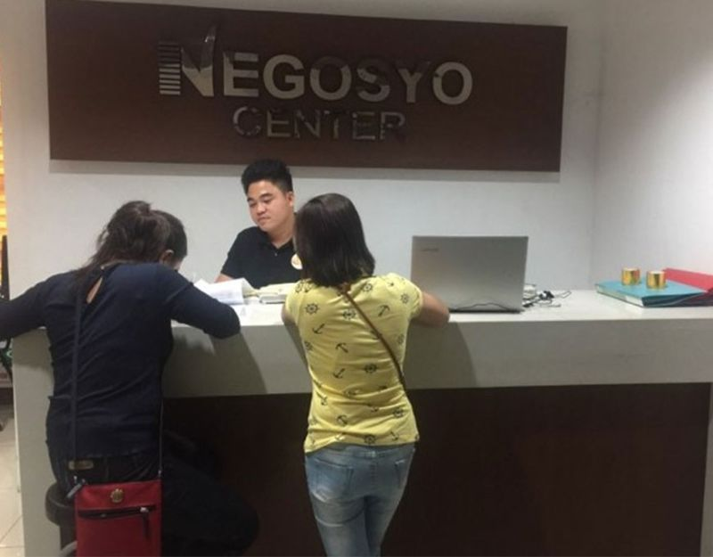 The Go Negosyo Center in Bacolod City, one of the 23 centers in Negros Occidental, catering to enterprises for business name registration. (Photo by Gabb Advincula)
