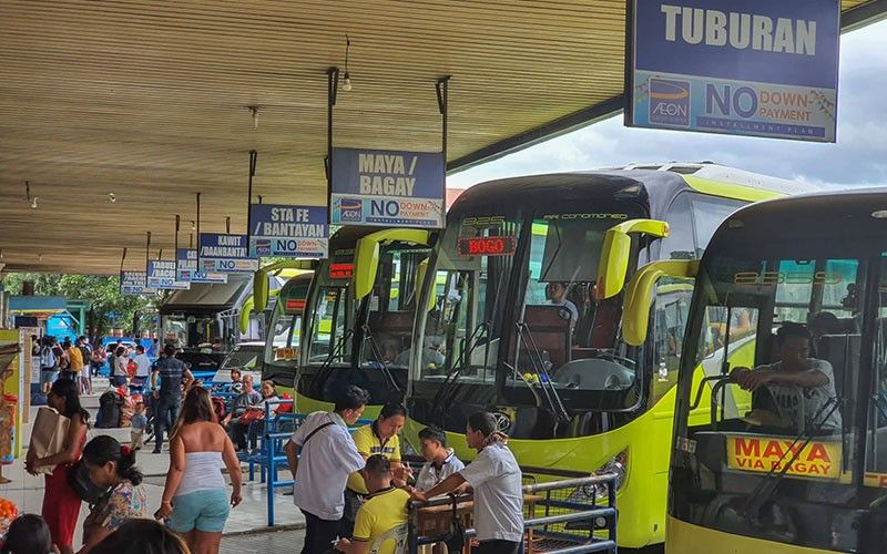APPEAL. Some bus operators at the Cebu North Bus Terminal in Barangay Subangdaku, Mandaue City have appealed to Mayor Jonas Cortes to reconsider his decision not to renew the Cebu City Government's lease contract on the property, which expires in October. (SunStar photo / Arni Aclao)