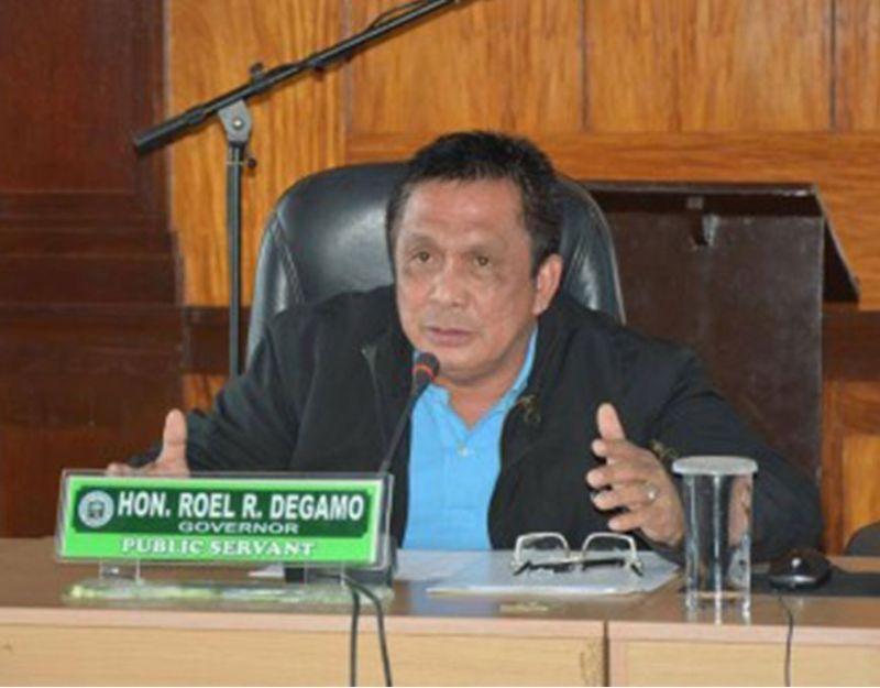 DUMAGUETE. Negros Oriental Governor Roel Degamo. (PNA)
