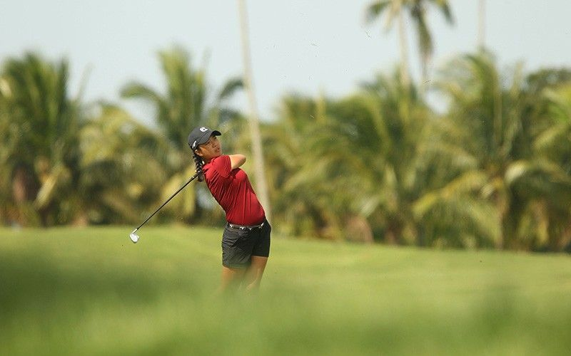 GOLDEN CEBUANA. Lois Kaye Go, a product of Cebu Country Club's junior golf program, will battle top golfers in her bid for a repeat in the women's division of the National Stroke Play Championships in Silang, Cavite. (Contributed photo)