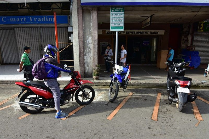 DAVAO CITY. The City Transport and Traffic Management Office (CTTMO) recently implemented the Public Pay Parking Zones in selected streets in the city. (Macky Lim)