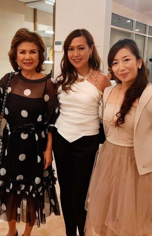 MARIQUITA YEUNG, Jaja Rama and Kumiko Onda