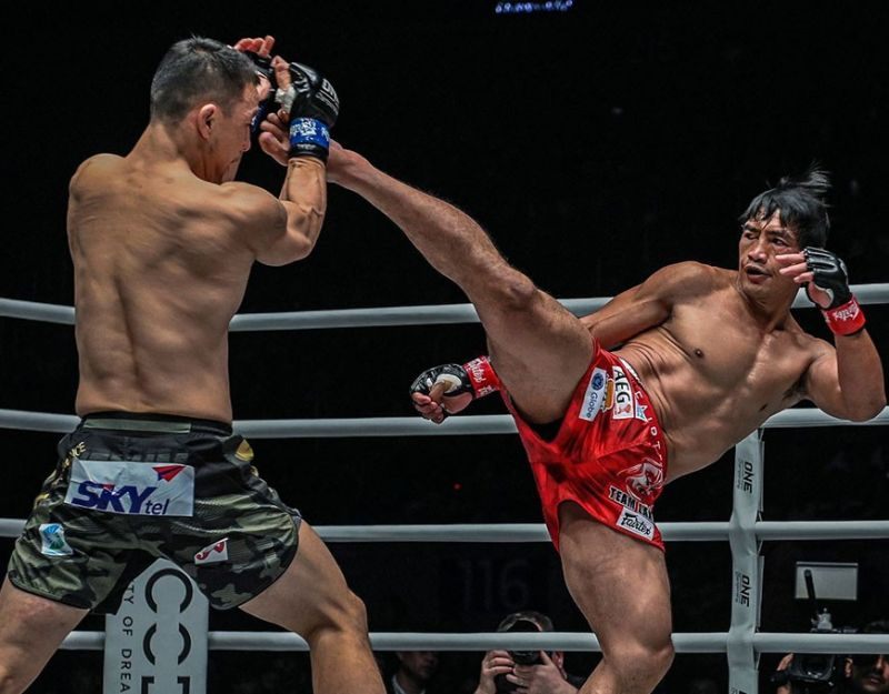 BAGUIO. After ending 2019 with a huge victory, Eduard Folayang is all pumped up this year hoping to get another crack at the ONE Championship lightweight world title. (ONE photo)
