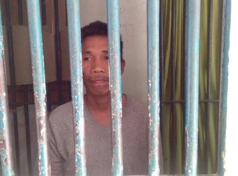 MINDANAO. Faisal Dimaukom, alias Kagi Faizal, was arrested in Datu Saudi Ampatuan. He was one of those accused in Maguindanao massacre. (Photo courtesy of PRO-Barmm)