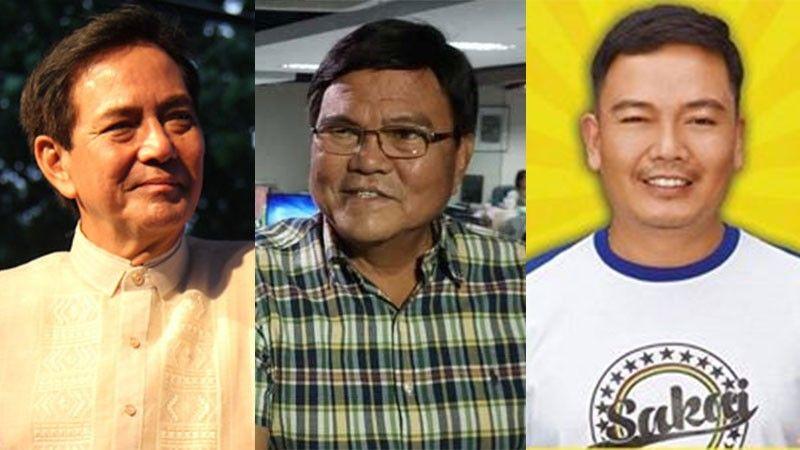 CEBU. (From left) Cebu City Vice Mayor Mike Rama, Mayor Edgardo Labella and Banilad Barangay Captain Dennes Tabar. (SunStar File/Tabar's Facebook account)