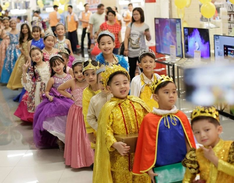 OLONGAPO. It was a sight to behold to see cute kiddos in regal royalty costumes at SM City Olongapo Central and SM City Olongapo Downtown in celebration of the Feast of the Epiphany or the Three Kings, which is celebrated 12 days after Christmas. (Contributed photo)