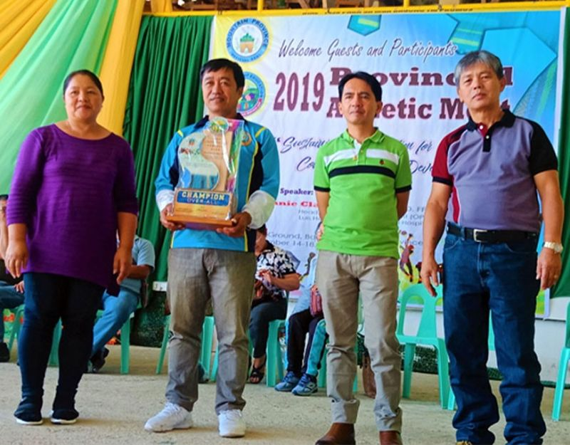 BENGUET. Bontoc retains the overall championship during the recently held Provincial Athletic Meet. Bontoc hauled 75 gold medals, 47 silvers and 44 bronzes besting other delegations. (Alpine Killa)