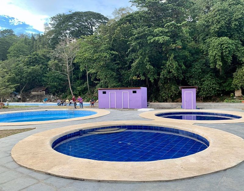 MISAMIS ORIENTAL. Healing pool (Courtesy of the Provincial Tourism Office)