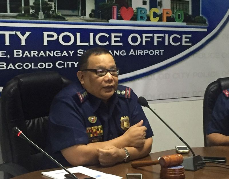 BACOLOD. Colonel Henry Binas, director of Bacolod City Police Office (BCPO). (Photo by Merlinda A. Pedrosa)