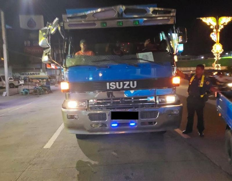 PAMPANGA. The Cagayan de Oro City Public Order and Safety Coordinating Office personnel conduct road monitoring in the city's major thoroughfares as part of the