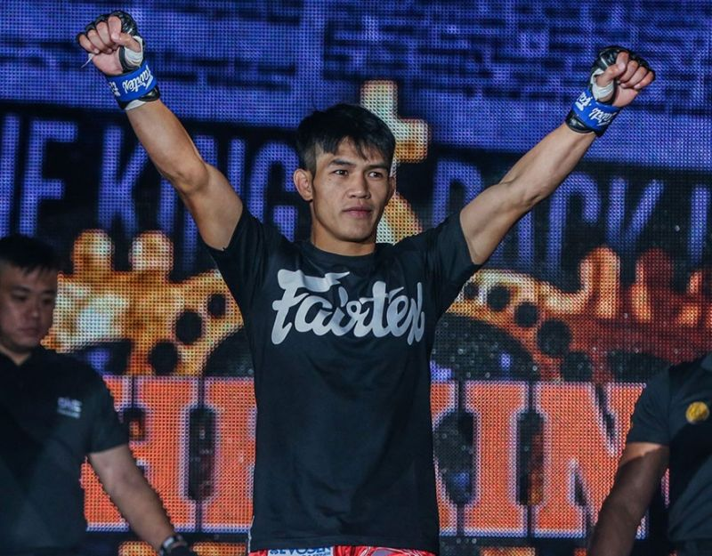 BAGUIO. Having a banner year in 2019 despite a three round loss against Demetrious Johnson, Danny Kingad's goal this 2020 is to win every match in order to become worthy of a world title challenge soon. (ONE photo)