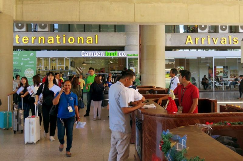 INFLUX OF ARRIVALS. The Mactan-Cebu International Airport will be on heightened alert from  Jan. 10 to 24, 2020 to ensure passenger safety and security during the Sinulog celebration. (SUNSTAR FILE)