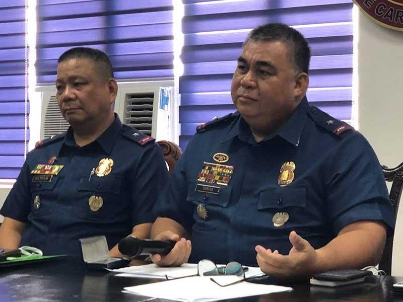 MANILA. SPD Director Brigadier General Nolasco Bathan with NCRPO Director Brigadier General Debold Sinas (NCRPO Photo)