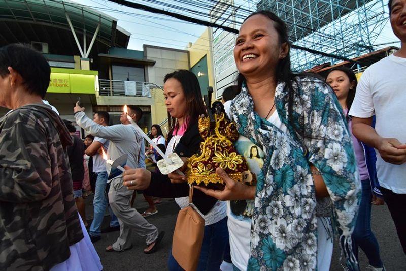 DAVAO. Traslacion in Davao City. (Macky Lim)