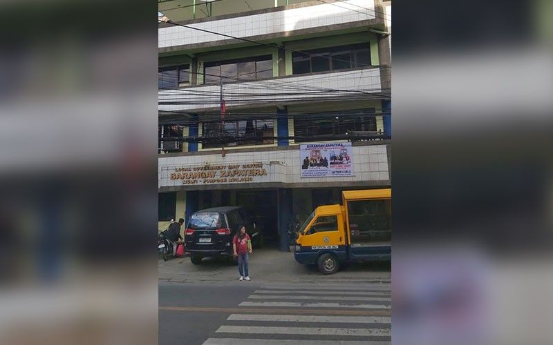 Zapatera barangay hall