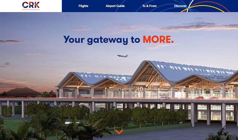 Clark International airport (Image grabbed from clarkinternationalairport.com)