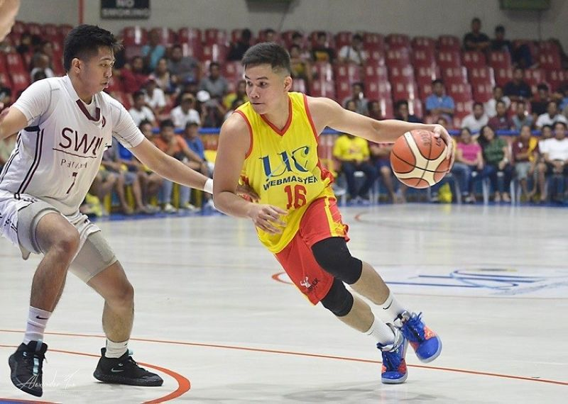 CEBU. Current Talk 'N Text star Roger Pogoy led UC in scoring with 11 points. (Photo by Alex Tan)