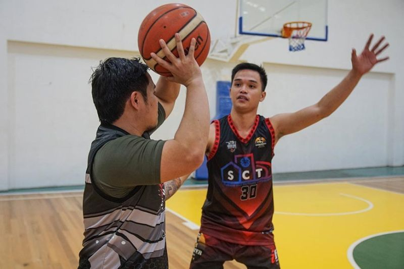 CAGAYAN DE ORO. Just a glimpse of the recent Powerhouse All-Star games at Gama Farms gym in Baloi, Cugman, Cagayan de Oro City. (Contributed Photo)